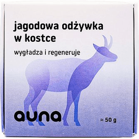 Auna Jagodowa odżywka do włosów w kostce, 50 g