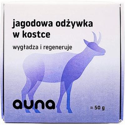 Jagodowa odżywka do włosów w kostce Auna
