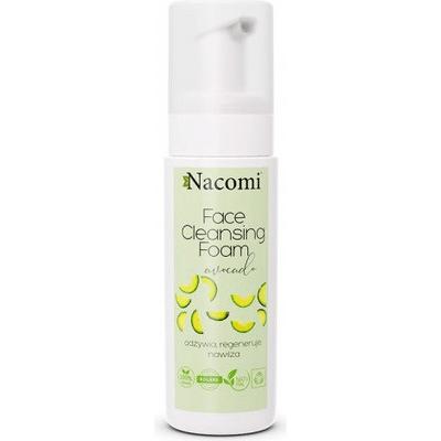 Delikatna pianka do mycia twarzy - Avocado Nacomi