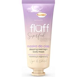 Fluff Maska do ciała na noc - Kombucha, 150 ml