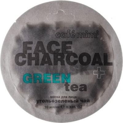 Maseczka do twarzy - Bambusowy węgiel & zielona herbata Cafe Mimi