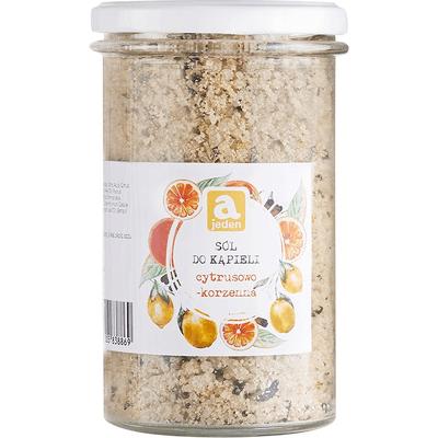 Cytrusowo-korzenna sól do kąpieli Ajeden