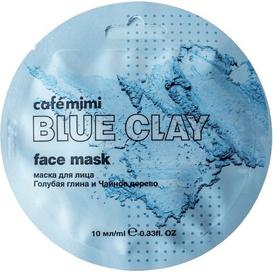Cafe Mimi Maseczka do twarzy - Niebieska glinka & drzewo herbaciane