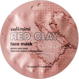 Cafe Mimi Maseczka do twarzy - Czerwona glinka & morwa