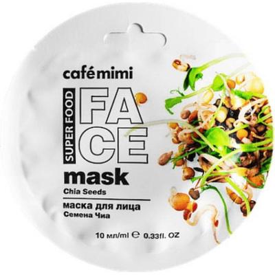 Maseczka do twarzy - Chia & oliwa Cafe Mimi