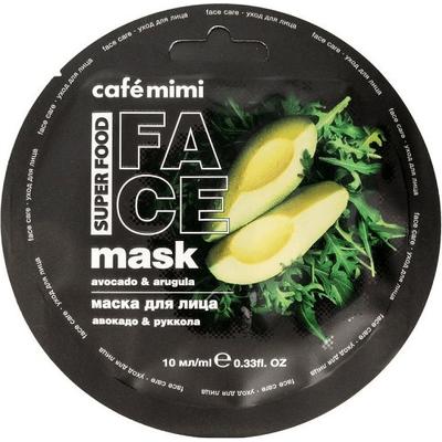 Maseczka do twarzy - Awokado & rukola Cafe Mimi
