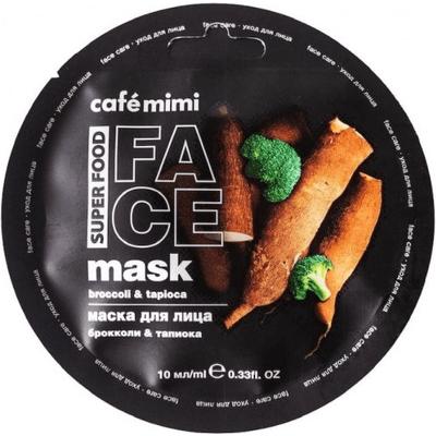 Maseczka do twarzy - Brokuły & tapioka Cafe Mimi