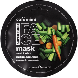 Cafe Mimi Maseczka do twarzy - Marchewka & seler