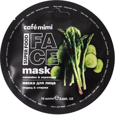 Maseczka do twarzy - Ogórek & szparagi Cafe Mimi