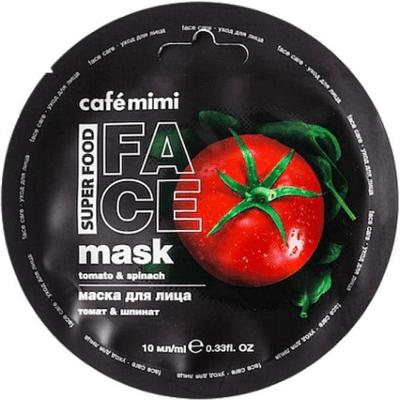 Maseczka do twarzy - Pomidor & szpinak Cafe Mimi