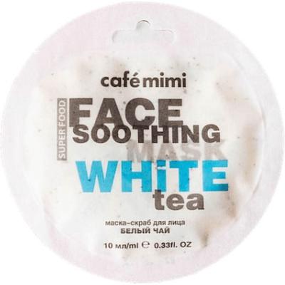 Maseczka-scrub do twarzy - Biała herbata & lotos Cafe Mimi