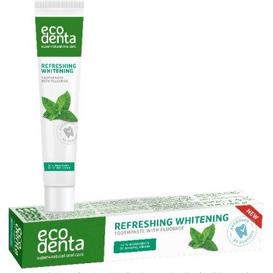 Ecodenta Odświeżająca i wybielająca pasta do zębów, 75 ml
