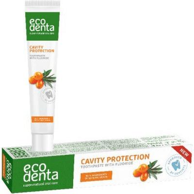 Ochronna pasta do zębów przeciw próchnicy Ecodenta