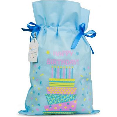 Worek prezentowy - Happy Birthday - rozmiar L Akcesoria Spa