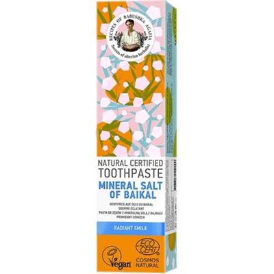Naturalna pasta do zębów z mineralną solą z Bajkału Receptury Agafii