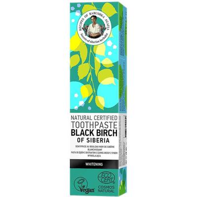 Naturalna pasta do zębów z czarną brzozą Receptury Agafii