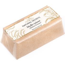 Natural Secrets Mydło ryżowe z płatkami owsianymi, 120 g