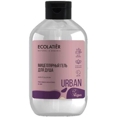 Micelarny żel pod prysznic - Mleko ryżowe i shea Ecolatier