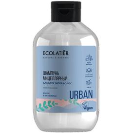 Ecolatier Micelarny szampon do wszystkich rodzajów włosów - Kokos i morwa, 600 ml