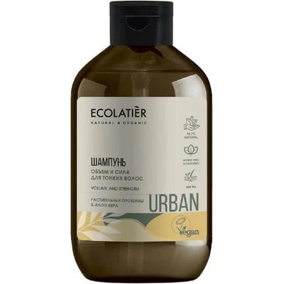 Szampon do włosów cienkich - Proteiny i aloes Ecolatier