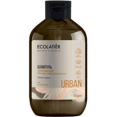 Wzmacniający szampon do włosów osłabionych - Shea i magnolia Ecolatier