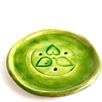 Ceramiczna podstawka pod szampon w kostce By Triny