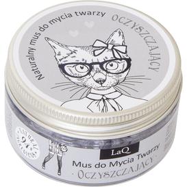 LAQ Oczyszczający mus do mycia twarzy, 100 ml