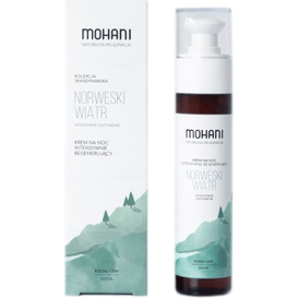 Mohani Intensywnie regenerujący krem na noc - Norweski Wiatr, 50 ml
