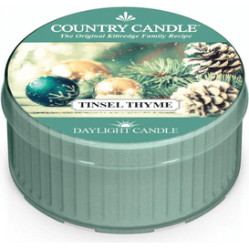 Kringle Candle Świeca zapachowa: Tinsel Thyme