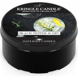 Kringle Candle Świeca zapachowa: Black Pepper & Gin