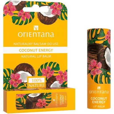 Naturalny balsam do ust - Coconut Energy Orientana