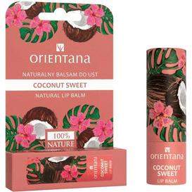 Orientana Naturalny balsam do ust - Coconut Sweet, 4,2 g