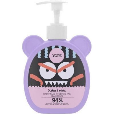 Naturalne mydło do rąk dla dzieci - Kokos i mięta Yope