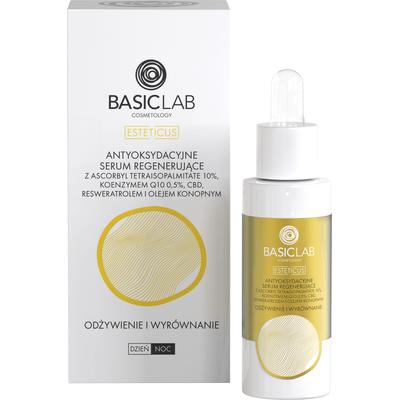 Antyoksydacyjne serum regenerujące z witaminą C - Odżywienie i wyrównanie BasicLab