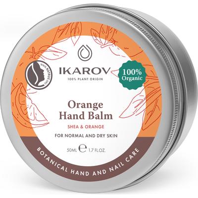 Pomarańczowy balsam do rąk Ikarov