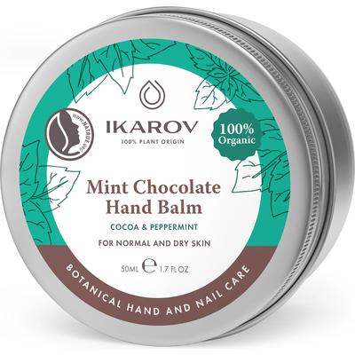Miętowo-czekoladowy balsam do rąk Ikarov