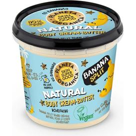 Planeta Organica Bananowy balsam do ciała odżywczo-nawilżający, 360 ml
