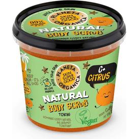 Planeta Organica Wygładzający scrub do ciała - Citrus, 360 ml