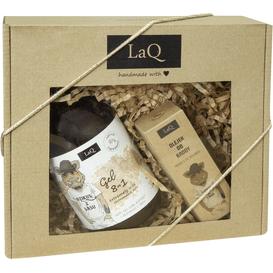 LAQ Zestaw Dzik - Żel pod prysznic + olej do brody, 2 szt.