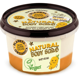 Planeta Organica Nawilżający scrub do ciała - Mango & nasiona chia, 250 ml
