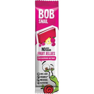 Bezcukrowa przekąska gruszka-malina-burak Bob Snail