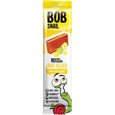 Bezcukrowa przekąska jabłko-gruszka-cytryna Bob Snail