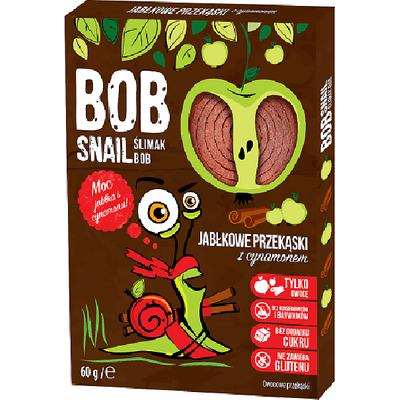Bezcukrowa przekąska jabłkowo-cynamonowa z owoców Bob Snail