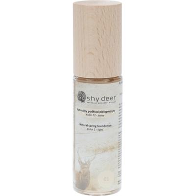 Naturalny podkład pielęgnujący - kolor 01 Shy Deer