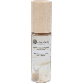 Shy Deer Naturalny podkład pielegnujący - kolor 02, 30 ml