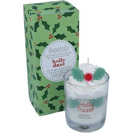 Bomb Cosmetics Świeca w szkle - Holly Daze