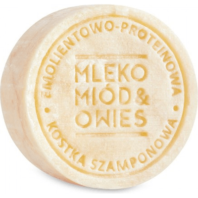 Szampon w kostce - Mleko, miód i owies Ministerstwo Dobrego Mydła