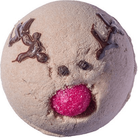 Bomb Cosmetics Musująca kula do kąpieli - Run Rudolph Run, 160 g