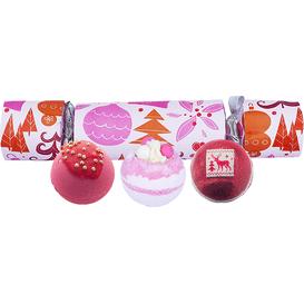 Bomb Cosmetics Zestaw upominkowy w kształcie cukierka - We Wish You a Rosy Christmas