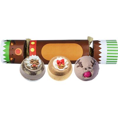 Zestaw upominkowy w kształcie cukierka - Red Nosed Reindeer Bomb Cosmetics